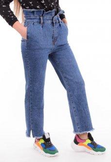 Женские джинсы с оборкой 28