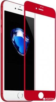 Защитное стекло Baseus Tempered Glass Film для Apple iPhone 7 Plus/8 Plus Red (SGAPIPH7P-PE09)