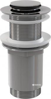 """Донный клапан для умывальника ALCA PLAST CLICK-CLAK 5/4"""" с малой заглушкой (8595580500337)"""