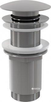 """Донный клапан для умывальника ALCA PLAST CLICK-CLAK 5/4"""" с большой заглушкой (8595580500344)"""