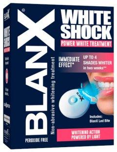 Зубна паста BlanХ White Shock Treatment + Led Bite 50 мл (8017331055427)