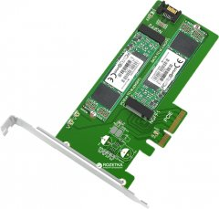 Адаптер Maiwo Multi-Size PCI-E to M.2 PCIe SSD / SATA to M.2 SATA SSD (KT015)