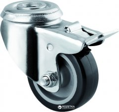 Мебельный ролик TENTE 1475 PAO 050 P30-11 50 мм без площадки с тормозом (10900136)
