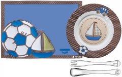Детский набор Tramontina Baby Le Petit из 4 предметов Синий (64250/680)