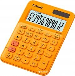 Калькулятор Casio 12 разрядный 105х149.5х22.8 (MS-20UC-RG-S-ES)