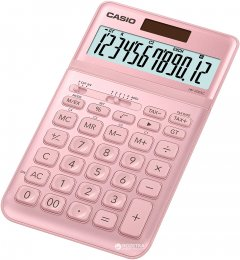 Калькулятор Casio 12 разрядный 109х183.5х10.8 (JW-200SC-PK-S-EP)