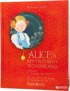 Книга интерактивная Alice's Adventures in Wonderland на английском языке (15207006А) (9789669775221)