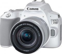 Фотоаппарат Canon EOS 250D 18-55 IS White (3458C003AA) Официальная гарантия!