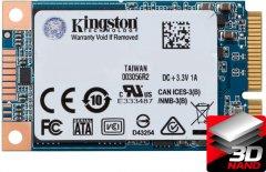 Kingston SSD UV500 480GB mSATA SATAIII 3D NAND TLC (SUV500MS/480G)