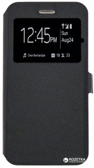Чехол-книжка Dengos Flipp-Book Call ID для Lenovo K6/K6 Power Black (DG-SL-BK-179)