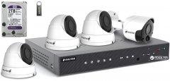 Комплект видеонаблюдения Balter Kit 5MP 3Dome 1Bullet 2ТБ