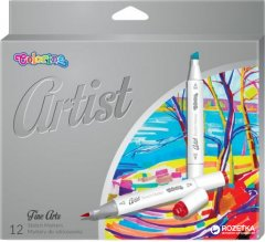 Маркеры для эскизов Colorino Artist 12 цветов 1 - 5 мм 12 шт (92470PTR)