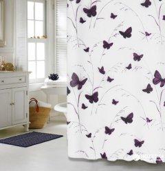 Шторка для ванной Мій Дім Butterflies 180x180 см NJ10252