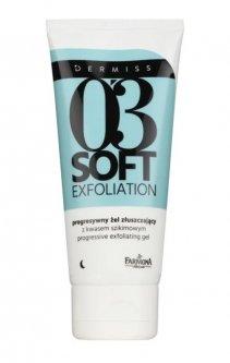 Farmona Dermiss Soft Exfoliation очищуючий пілінговий гель для відновлення поверхневого шару шкіри (75 мл)