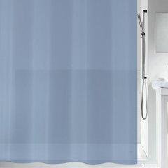 Шторка для ванной Spirella Bio PVC 180x200 PEVA Серо-синяя (10.20155)