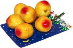 Набор веточек Devilon с ягодами 12 см Желтый (450596) (5102681450596)