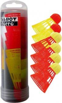 Воланы для скоростного бадминтона Talbot Torro Speedbadminton ballsortiment aerospeed 6 pack (490180)
