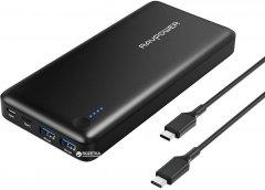 УМБ RavPower Xtreme 20100mAh PD Portable Charger Black (RP-PB059)