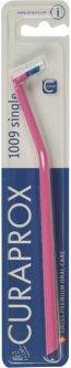 Зубная щетка монопучковая Curaprox CS 1009 Single & Sulcular 9 мм Розовая (CS 1009-04) (7612412910094_pink_blue)