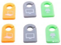 Маркер для кабелей ExtraDigital Cable Label CC-581 6 шт Color Set (KBC1722)