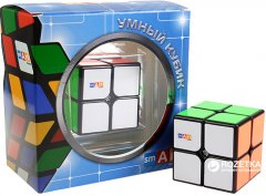 Головоломка Smart Cube Умный кубик 2х2 Черный (SC203) (4820196788133)