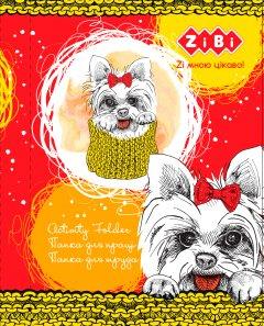 Папка для труда ZiBi Kids Line Lovely Dog А4+ на резинке (ZB.14931)