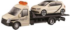 Игровой набор Bburago Автоперевозчик c автомоделью VW Polo Gti Mark 5 (18-31403) (4893993314034)