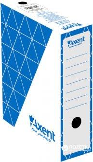 Набор архивных боксов 10 шт Axent для документов А4 100 мм Синий (1732-02-A)