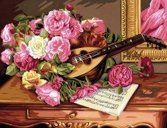 Набор для творчества Sequin Art Painting by numbers Senior Romantic Bouquet 38х29 см (SA1037)