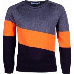 Джемпер для хлопчика сірий, оранжевий Flash 18B075-5-1111-323/403/4 Розмір 152