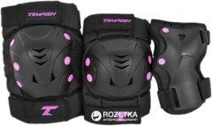 Комплект защитный Tempish Taky размер S Черный/розовый (102000070/pink/S) (8592678086995)