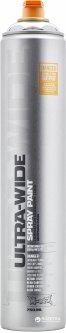 Синтетическая краска-спрей Montana UW750 (ультра широкая линия) Хром 750 мл (4044965174877)