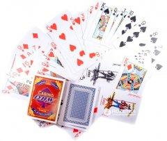 Карты игральные покерные пластиковые Duke Casino DBW 54 листа 87х62 мм (DN30765)