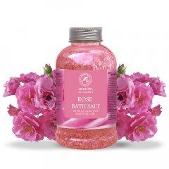 Соль морская для ванн Ароматика Роза 600 г (4820177022157)