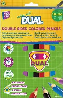 Карандаши цветные Cool for School Dual 36 цветов (CF15156)