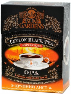 Чай черный рассыпной Sun Gardens Summer OPA 90 г (4820082702793)
