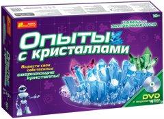 Набор для экспериментов Ranok-Creative Опыты с кристаллами (9789667534929) (12114002Р)