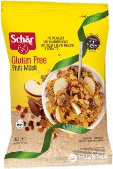Мюсли без глютена Dr. Schar Fruit Musli фруктовые 375 г (8008698020142)