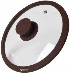 Крышка Fissman Arcades 20 см Dark brown (9967)