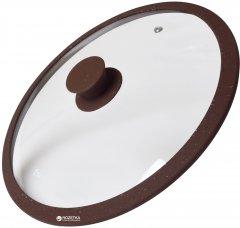Крышка Fissman Arcades 26 см Dark brown (9969)