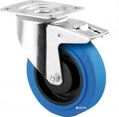 Поворотная колесная опора с тормозом TENTE 3477 PJP 100 P62 BLUE (00061822)
