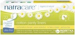 Ежедневные прокладки Natracare Ультратонкие (Ultra Thin Panty Liners) из органического хлопка 22 шт (782126003096)