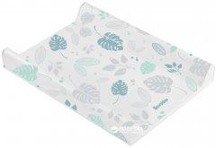 Пеленальная доска Sensillo Floral Platynowy Mint (Sillo-1243)