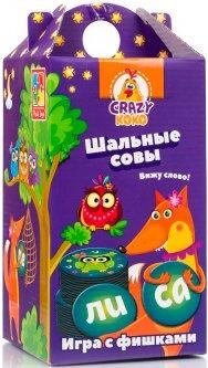 Игра настольная Vladi Toys Crazy Koko Шальные совы. Вижу слово! (Рус) (VT8033-02)