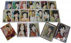 Карты игральные покерные атласные Duke Китайские красавицы 54 листа 86х56 мм (DN26299) (2000020240743)