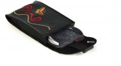 Чехол для ножниц и кусачек Red Point Domino Черный Бабочки (ВД.02.К.01.01.017.Х)