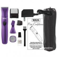 Триммер универсальный женский WAHL Pure Confidence Kit 09865-116 с бритвенной насадкой