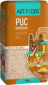 Рис ArtFoods Камолино шлифованный 1 кг (4820191590847)