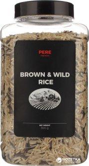 Смесь риса Pere нешлифованного и дикого 800 г (4820191590526)