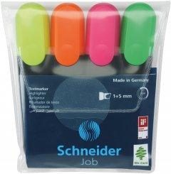 Набор маркеров текстовых Schneider Job 150 1-4.5 мм в блистере 4 шт (S1500**)